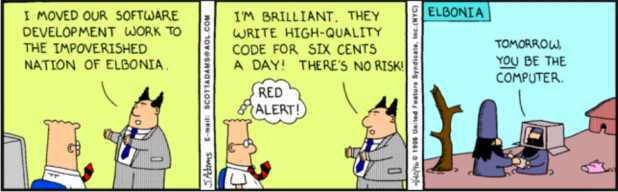 Dilbert Outsourcing